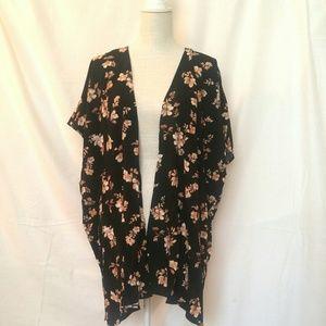 Forever 21 Cotton Blend Kimono (Size L)